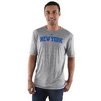 Men's Majestic New York Knicks Fight Til The End Tee