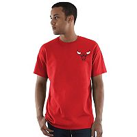 Men's Majestic Chicago Bulls Logo State Tee