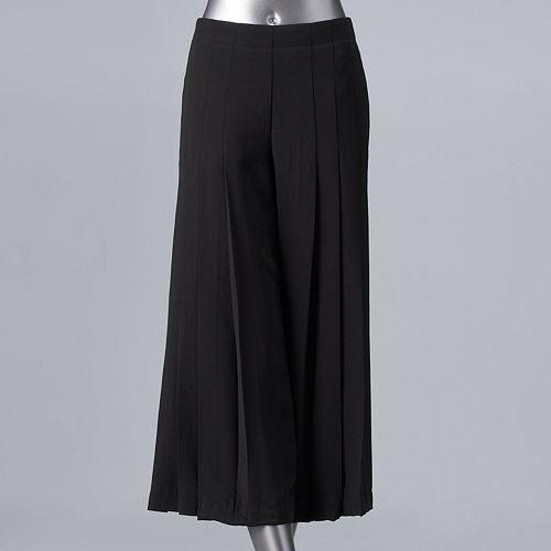 4bf99948c32 Women s Simply Vera Vera Wang Pleated High Rise Wide-Leg Pants