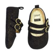 Baby Girl Carter's Glitter Mary Jane Crib Shoes