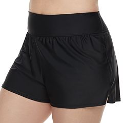 Plus Size Croft & Barrow® Swim Shorts