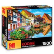 Kodak Premium Puzzles 1500-Piece Amazing Traditional French Houses Puzzle