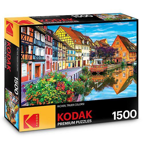Kodak Premium Puzzles 1500-Piece Amazing Traditional French Houses Puzzle