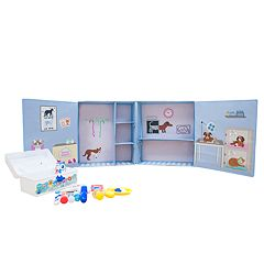 Asweets Vet Animal Hospital Storage Box & Plush Set