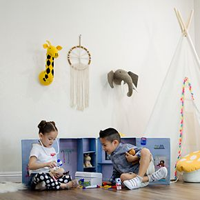 Asweets Vet Animal Hospital Storage Box & Plush Set