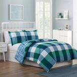 VCNY Home Quest Plaid Comforter Set