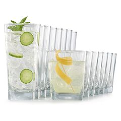 Food Network™ 16-piece Classico Drinkware Set