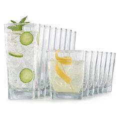 Food Network™ 16-piece Classico Drinkware Set