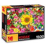 Kodak Premium Puzzles 1500-Piece Colorful Flower Bed Puzzle
