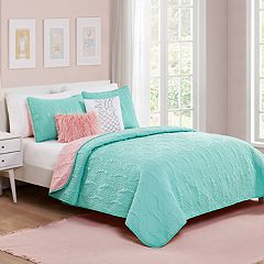 VCNY Home Pineapple Sundae Quilt Set