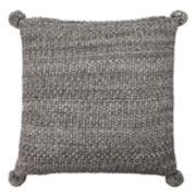 Safavieh Pom-Pom Knit Throw Pillow