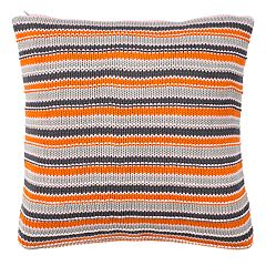 Safavieh Candy Stripe Knit Throw Pillow