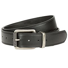 Men's Lee Flat-Edge Double-Stitched Stretch Belt