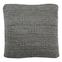 Safavieh Cozy Shimmer Knit Throw Pillow
