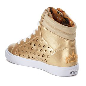 Disney D-Signed Crown Girls' High Top Shoes