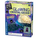 Thames & Kosmos Glowing Crystal Geode