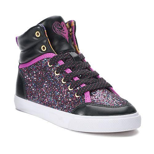 Disney D-Signed Glitter Girls' High Top Shoes
