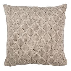 Safavieh Petal Lattice Knit Throw Pillow