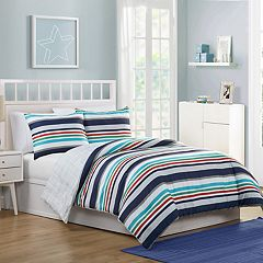 VCNY Home Cosmic Stripe Comforter Set