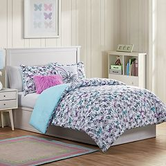 VCNY Home Fly Free Butterfly Comforter Set
