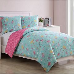 VCNY Home Mermaid Princess Comforter Set
