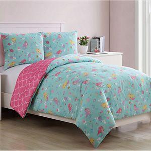 VCNY Home Mermaid Princess Comforter Set