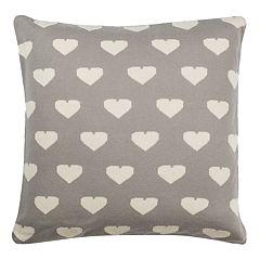 Safavieh True Love Heart Knit Throw Pillow