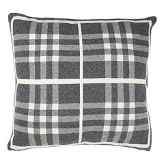 Safavieh Unity Gingham Knit Throw Pillow