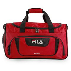c3a2635ff004 FILA® Ace II 19-Inch Duffel Bag. Red Black Gray