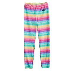 Girls 7-16 JoJo Siwa Rainbow Striped Leggings