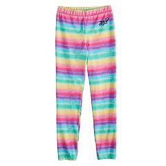 Girls 7-16 JoJo Siwa Rainbow Striped Leggings