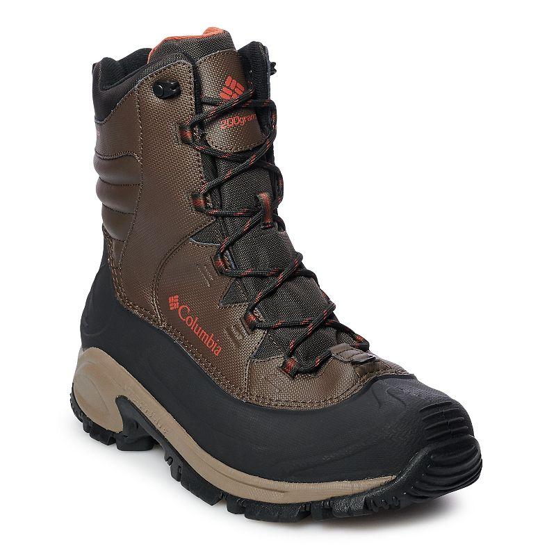 Columbia Bugaboot III Men's Waterproof Winter Boots. Size: 8 Wide. Lt Brown
