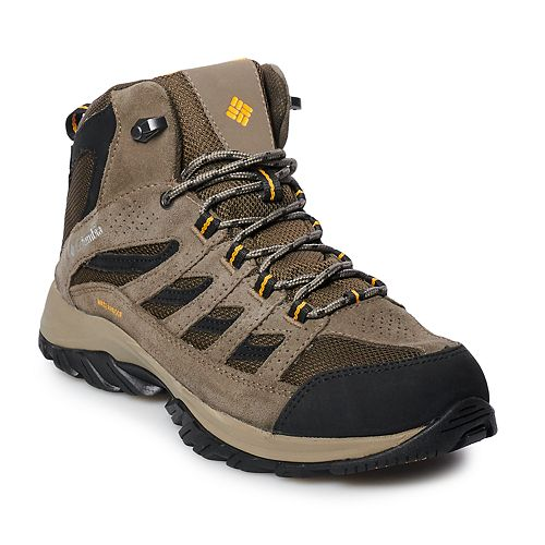 e00ef79cc48 Columbia Crestwood Mid Men's Waterproof Hiking Boots