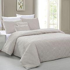 Sanctuary Embossed 5-piece Comforter Set