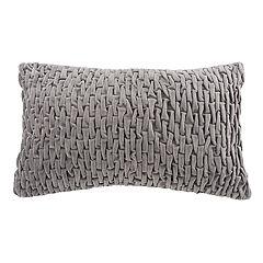 Safavieh Caine Textured Oblong Throw Pillow