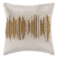 Safavieh Deston Darling Metallic Throw Pillow