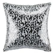 Safavieh Leopard Sequin Throw Pillow