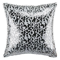 Safavieh Leopard Sequin Throw Pillow