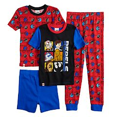Boys 4-10 Lego Star Wars 4-Piece Pajama Set