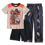 Boys 4-12 Lego Star Wars 3-Piece Pajama Set