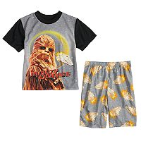 Boys 6-12 Han Solo Chewbacca 2-Piece Pajama Set