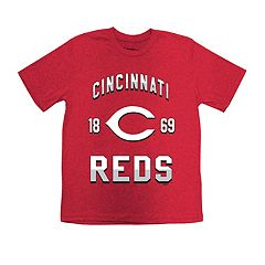 Boys 8-20 Cincinnati Reds Stitches Basic Tee