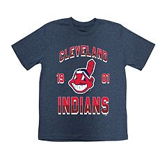 Boys 8-20 Cleveland Indians Stitches Basic Tee