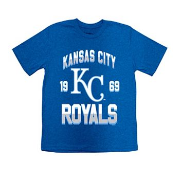34f628b3 Boys 8-20 Kansas City Royals Stitches Basic Tee