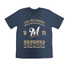 Boys 8-20 Milwaukee Brewers Stitches Basic Tee