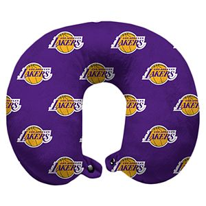 Pegasus Los Angeles Lakers Polyester-Fill Travel Pillow