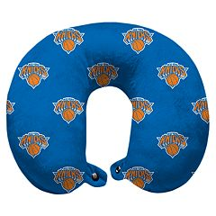 Pegasus New York Knicks Polyester-Fill Travel Pillow