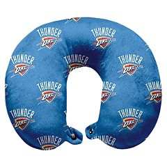 Pegasus Oklahoma City Thunder Polyester-Fill Travel Pillow
