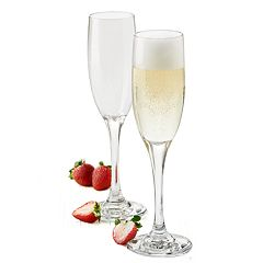 Food Network™ 4-piece Modesto Champagne Flute Set