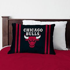 Pegasus Chicago Bulls Standard Bed Pillow with Microfiber Cover
